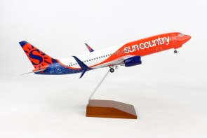 Sun Country Boeing B737-800 Scimitars New Livery gears Skymarks Supreme SKR8277 scale 1:100