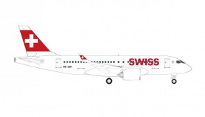 Swiss Airbus A220-100 Herpa 530736-001 scale 1:500
