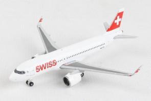 Swiss Airbus A320neo Herpa Wings die cast 534413 scale 1:500