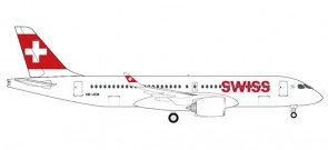 Swiss International CS300 Bombardier (A220-300) HB-JCB 532877 scale 1:500