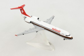 Swissair Fokker F-100 HB-IVA First delivered 1988 Herpa 559386 scale 1:200