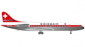 Swissair Sud Aviation SE-210 Caravelle HB-ICS Herpa die-cast 534062 scale 1:500