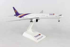Thai Airways Boeing 777-300 with stand and gears Skymarks SKR944 scale 1:200