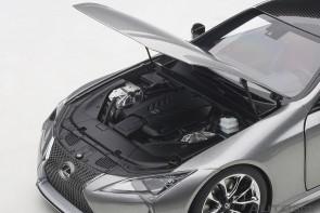 Titanium Metallic Lexus LC500 AUTOart Rose interior AUTOart 78871 scale 1:18