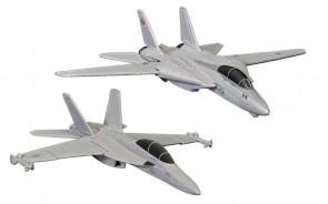 Top Gun II set F-14 & & F/A-18 Corgi CG90682