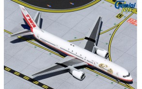 Trans World Airlines (TWA) Boeing 757-200 N725TW final livery Gemini Jets GJTWA1982 scale 1:400