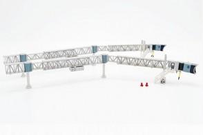Transparent Airport Passenger Bridge for Boeing 737 JCWings LH2ARBRDG281 scale 1:200