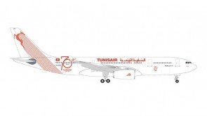 Tunisair Airbus A330-200 70th Anniversary Herpa 534659 scale 1:500