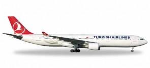 Turkish Airlines Airbus A340-300 1:200 Modellino da Collezione Skymarks SKR357