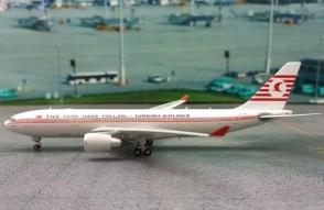 Turkish Airlines  THY  A330-200 Retro Colors Airbus Reg#TC-JNC Phoenix 11267 Scale 1:400