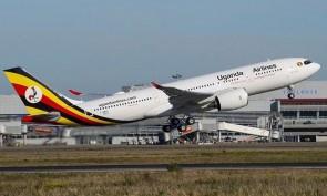 Uganda Airlines Airbus A330-800neo 5X-NIL Herpa Wings die-cast 535427 scale 1:500