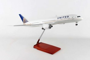 United Boeing 787-9 Dreamliner stand & gears Skymarks Supreme SKR9003 scale 1:100
