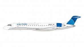 United Express New Livery CRJ-550 N504GJ Gemini 200 G2UAL879 scale 1:200