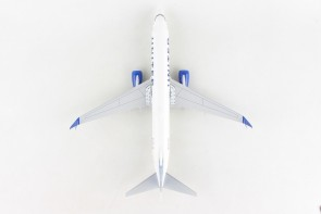 United New Livery Boeing 737-800 scimitars N37267 wood stand & Gears Skymarks Supreme SKR8284 scale 1:100