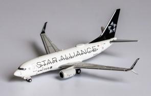 United Star Alliance Boeing 737-700 scimitar winglets N13720 die-cast NG Models 77005 scale 1-400