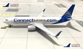 Copa Airlines Boeing 737-8V3 HP-1849CMP die-cast by El Aviador EAV400-1849 scale 1:400