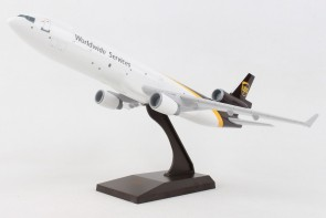 UPS McDonnell Douglas MD-11 N281UP with UPS brown stand Skymarks SKR1086 Scale 1:200