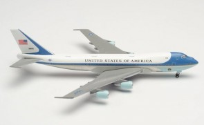 US Air Force One Boeing 747-200 Reg# 82-8000 Herpa 89TH AW JB Andrews Wings HE502511-003 scale 1:500