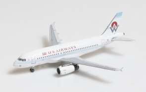 US Airways-America West Airbus A319 old livery N828AW Big Bird Blue Box BBX41612 scale 1:400
