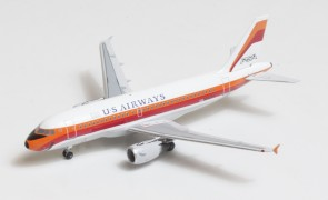 US Airways-PSA livery Airbus A319 N742PS Big Bird Blue Box BBX41604 scale 1:400