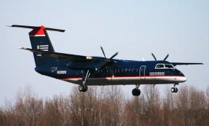 US Airways DASH 8-Q300 dark blue livery N326EN JC Wings JC2USA274 scale 1:200