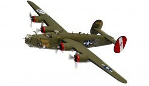 US Consolidated B-24H Liberator 'Witchcraft' 130 missions Corgi CG34019 scale 1:72