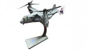 US Marines V-22 Osprey blue Knights die-cast Air Force 1 model  AF1-0012C scale 1:72