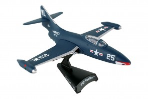 US Navy F-9F Panter die cast Postage Stamp PS5393-2 scale 1:96