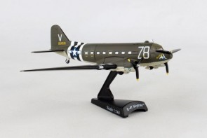USAAF C-47 Skytrain Tico Belle die cast Postage Stamp PS5558-3 Scale 1:144