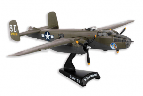 USAF B-25j Mitchell Briefing Time Postage Stamp PS5403-5 scale 1-100