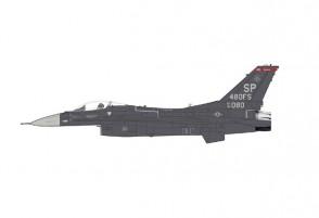 USAF F-16C Fighting Falcon 480th FS Spangdahlem AB 2020 Hobby Master HA38001W scale 1:72