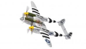 """USAF Lockheed P-38J Lightning """"Happy Jacks Go Buggy"""" Capt. Jack M Ilfrey Corgi CG36616 scale 1:72"""