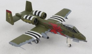 USAF Michigan ANG A-10C Thunderbolt II Red Deviles Herpa 559362 scale 1:200