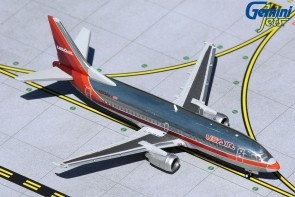 USAir Boeing 737-300 1980's polished livery Gemini Jets N523AU Gemini Jets GJUSA372 scale 1:400