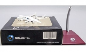 Virgin Galactic White Knight II N348MS old livery JCWings VG4VGX001 scale 1:400