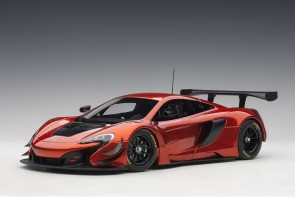 Volcano Orange McLaren 650S GT3 Black accents AUTOart Model 81642 1:18