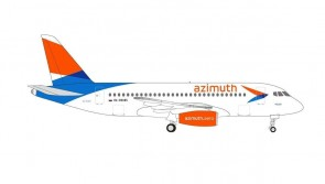 Volga Azimuth Airlines Sukhoi Superjet 100 SSJ100 RA-79085 Herpa 534796 scale 1:500