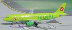 Aero Classic diecast model airplane S7 Siberian Airlines Boeing Airbus A319  Reg# VP-VTO Aero Classic Scale 1:400