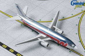 Western B737-300 N306WA (Polished, Final Livery) Gemini jets GJWAL1202 Scale 1:400