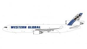 Western Global MD-11 N-412SN die-cast Phoenix 11616 scale 1:400