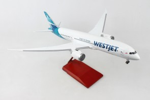 Westjet Boeing 787-9 C-GUDH new livery Dreamliner stand & gears Supreme SKR9005 scale 1-100