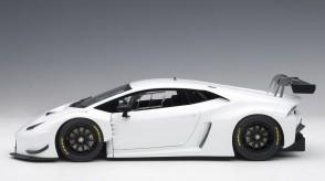 White Lamborghini Huracan GT3 bianco isis AUTOart 81527 scale 1:18