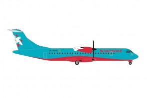 Windrose Aviation ATR-72-600 UR-RWB die cast Herpa 535489 scale 1:500
