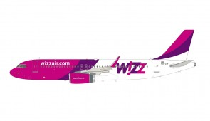 Wizz Air Airbus A320-232 HA-LYF with stand InFlight IF320W60421 scale 1:200