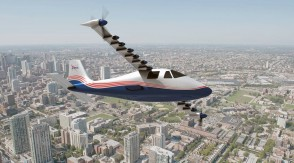 "NASA ""Maxwell"" X-57 Electric research plane Executive Series E90524 scale 1:16"