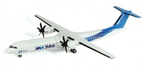 Xian MA700 House demonstrator livery AirForce1 AF1-0162 die-cast model scale 1:72