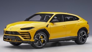 Yellow Lamborghini Urus Giallo Auge/Solid Yellow AUTOart 79163 scale 1:18