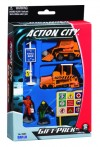6 Piece Action City Construction Vehicle Gift Pack RT38813