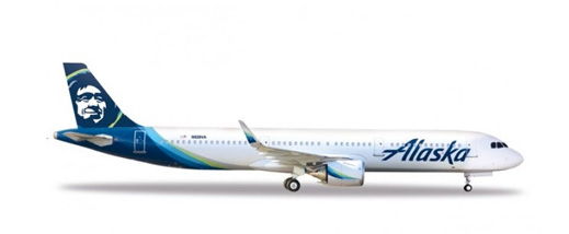 Alaska Airlines models at eztoys